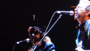 Eric Clapton and Jeff Lynne Singing Something