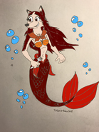 Jenna as ariel by rowserlotstudios1993 by powermaster14-ddam7rz