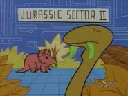 Dexter's Lab Triceratops and Sauropod