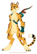 Hunter the cheetah reignited by pyrus leonidas dcnybjt