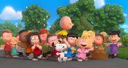 Peanuts are cheering