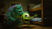 Sulley do with mike