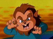 Theodore Seville as a Werewolf