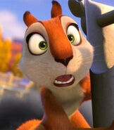 Andie in The Nut Job