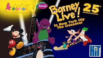 Barney Live! In New York City The Crossover (25th Anniversary Special)