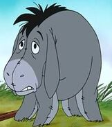 Eeyore in Winnie the Pooh - Shapes and Sizes