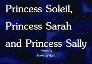 Princess Soleil, Princess Sarah and Princess Sally Title Card