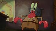 Krabs door