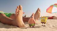 Spongebob and patrick foot