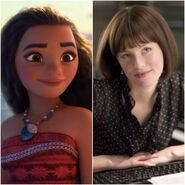Moana as Betty Brant