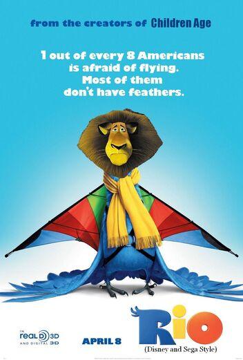 Rio (Disney and Sega Style) Poster
