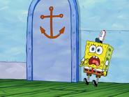 Spongebob gasping