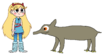 Star meets Baird's Tapir