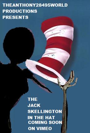 Jack Skellington in the Hat Poster