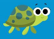 Sea Turtle down in the deep blue sea super simple songs