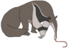 Tadeo the Giant Anteater