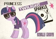 Twilight Sparkle of the 60s