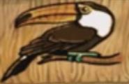 Hugo jungle island memory toucan