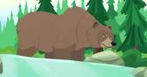 Wild Kratts Grizzly Bear