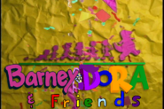 Barney, Dora Friends Season 5 title