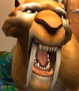 Diego in Ice Age Dawn of the Dinosaurs the Video Game