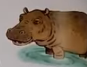 Hippopotamus usborne my first thousand words