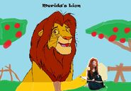 Merida's Lion poster