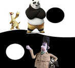 Sid and Po vs Victor Quartermaine and Von Talon
