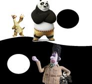 Sid and Po vs Victor Quartermaine and Von Talon