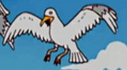 Simpsons Seagull