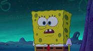 Spongebob see town