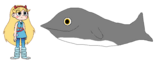 Star meets Beaked Whale