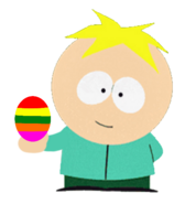 Butters Stotch Holding The Dream Maker Egg