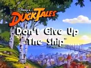 Don't Give Up the Ship (Title Card)