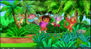 Dora Swinging With Friends 1