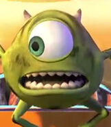 Mike Wazowski in Mike's New Car