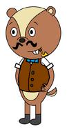 Mr Chris Pepper (Bullseye O'Wally) (pipe)