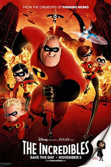 The Incredibles English Poster