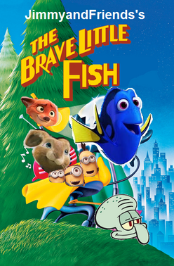 The brave little fish poster