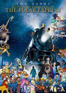 Winnie the Pooh Enters The Polar Express