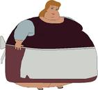 Cendrillon Obèse