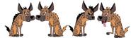 Madagascar 4 Hyenas