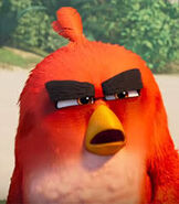 Red in The Angry Birds Movie 2