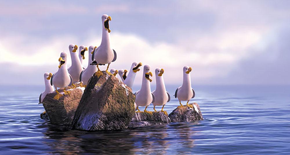image disney problems finding nemo seagulls jpg the parody wiki