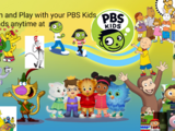 Learn and Play with your PBS Kids Friends anytime at PBS Kids