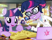 Twilight sparkle science team by pixelkitties-d9wdyde
