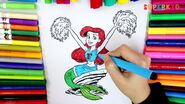 Ariel Cheerleader