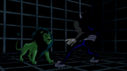 Beast Boy as Lion