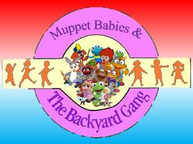 Muppet Babies & The Backyard Gang logo