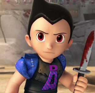 Dark Astro Boy in Dragon Rockz